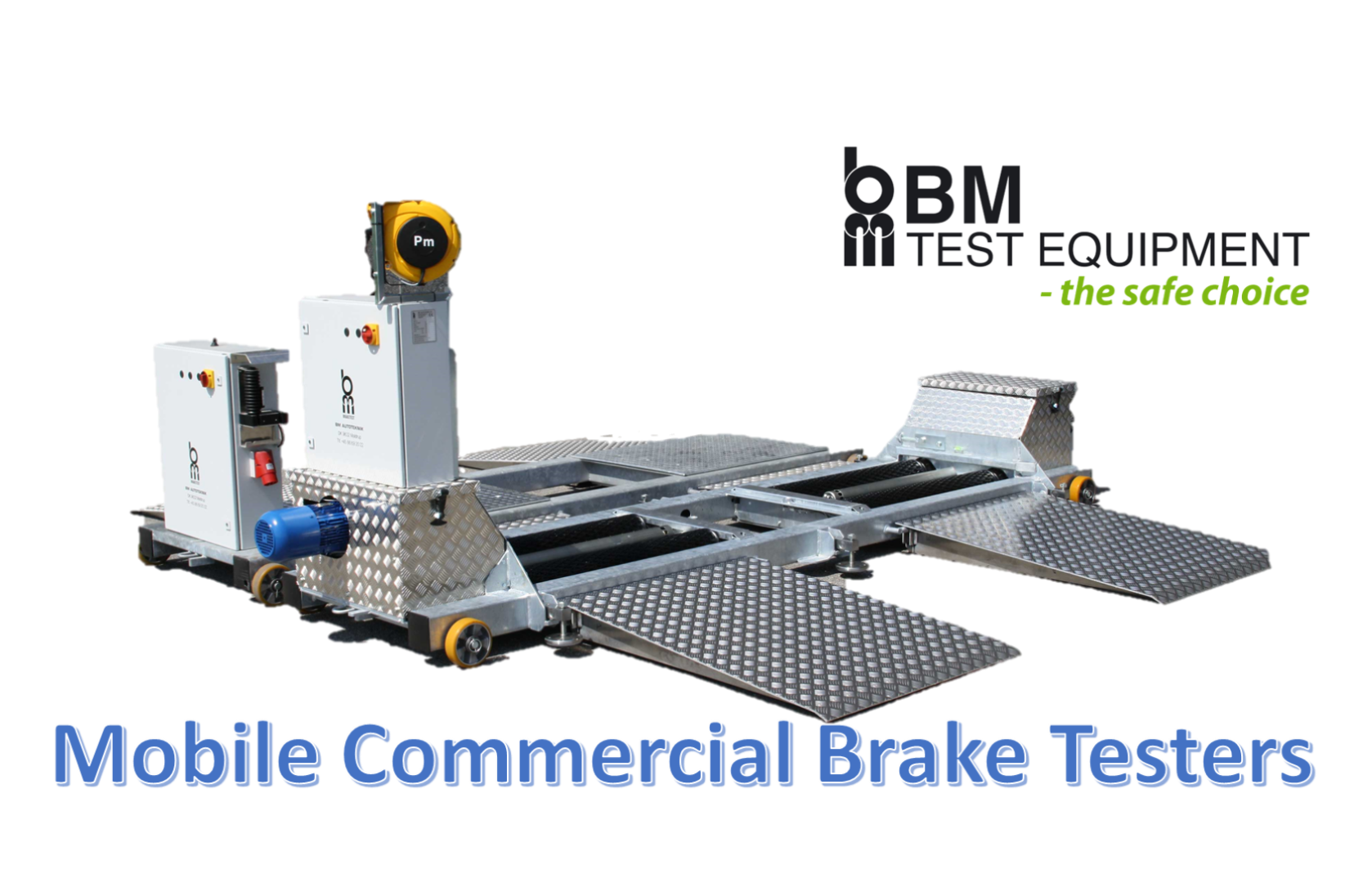 mobile commercial brake tester