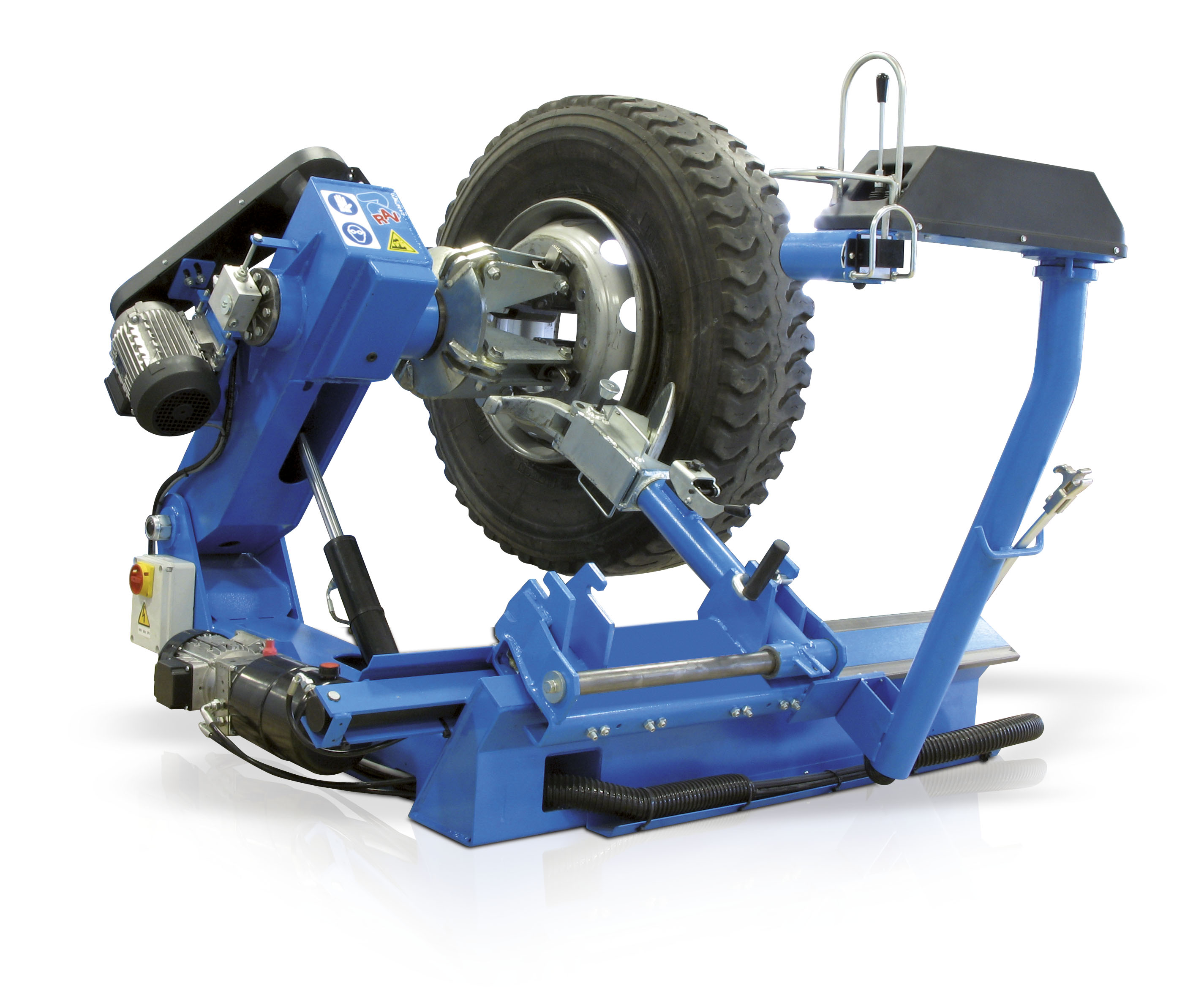 commercial tyre changer
