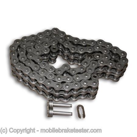 Brake tester chain for BM20200 mobile brake tester