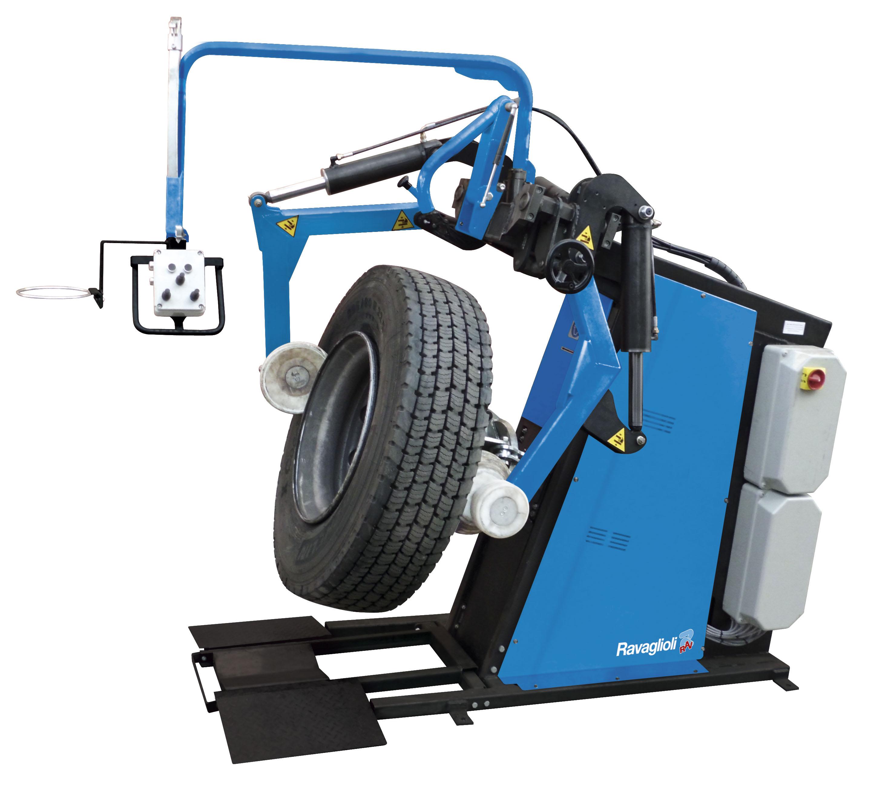 GTB16N Ravaglioli Commercial Tyre Changer