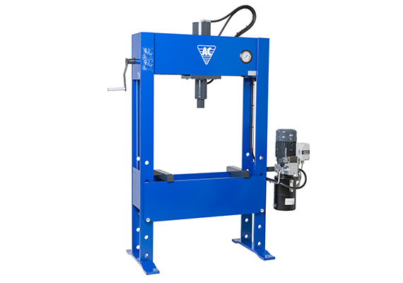 100 Tonne Electro hydraulic Press with built in winch